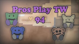 Teeworlds - Pros play TW 94: I did it again :D