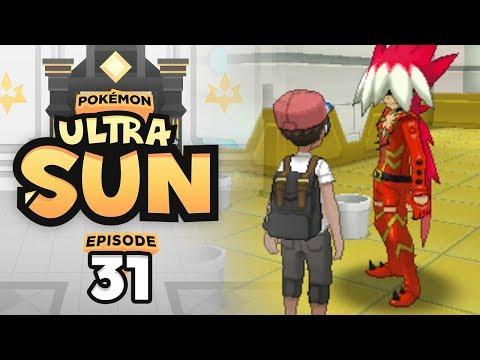 RYUKI WANTS TO BE A GYM LEADER? | Pokemon Ultra Sun & Ultra Moon Let's Play - 31 w/ TheHeatedMo
