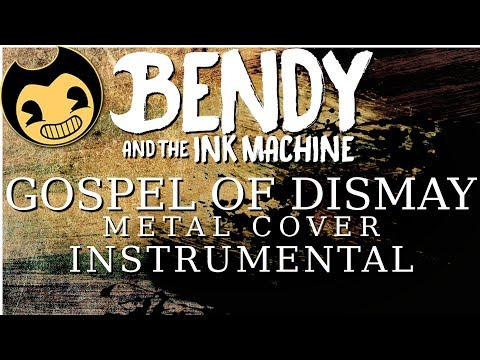 Gospel of Dismay - Metal Cover INSTRUMENTAL (DAGames) || BillyTheBard11th
