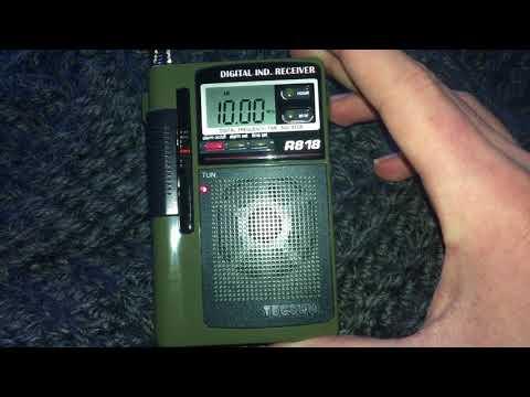 Shortwave Radio: WWV on 10 MHz