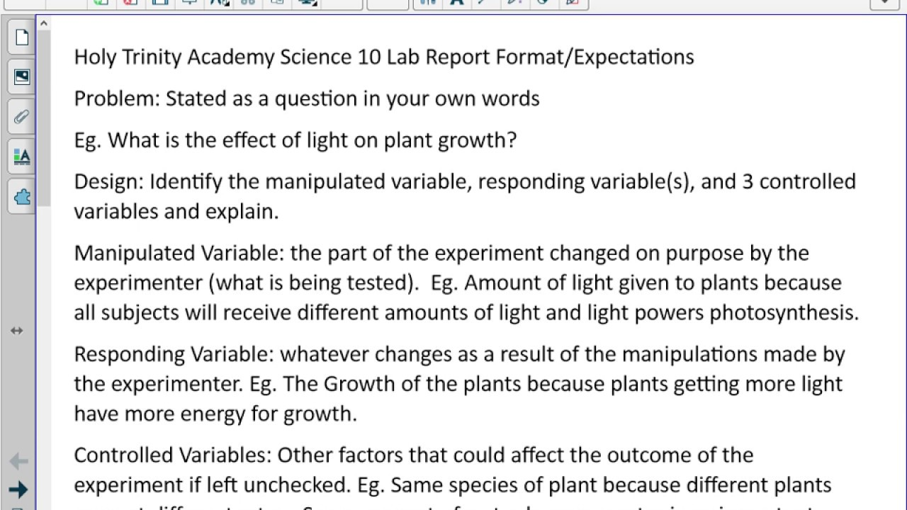 science lab essay format An article about academic lab reports and how to get pro help in writing a lab report.