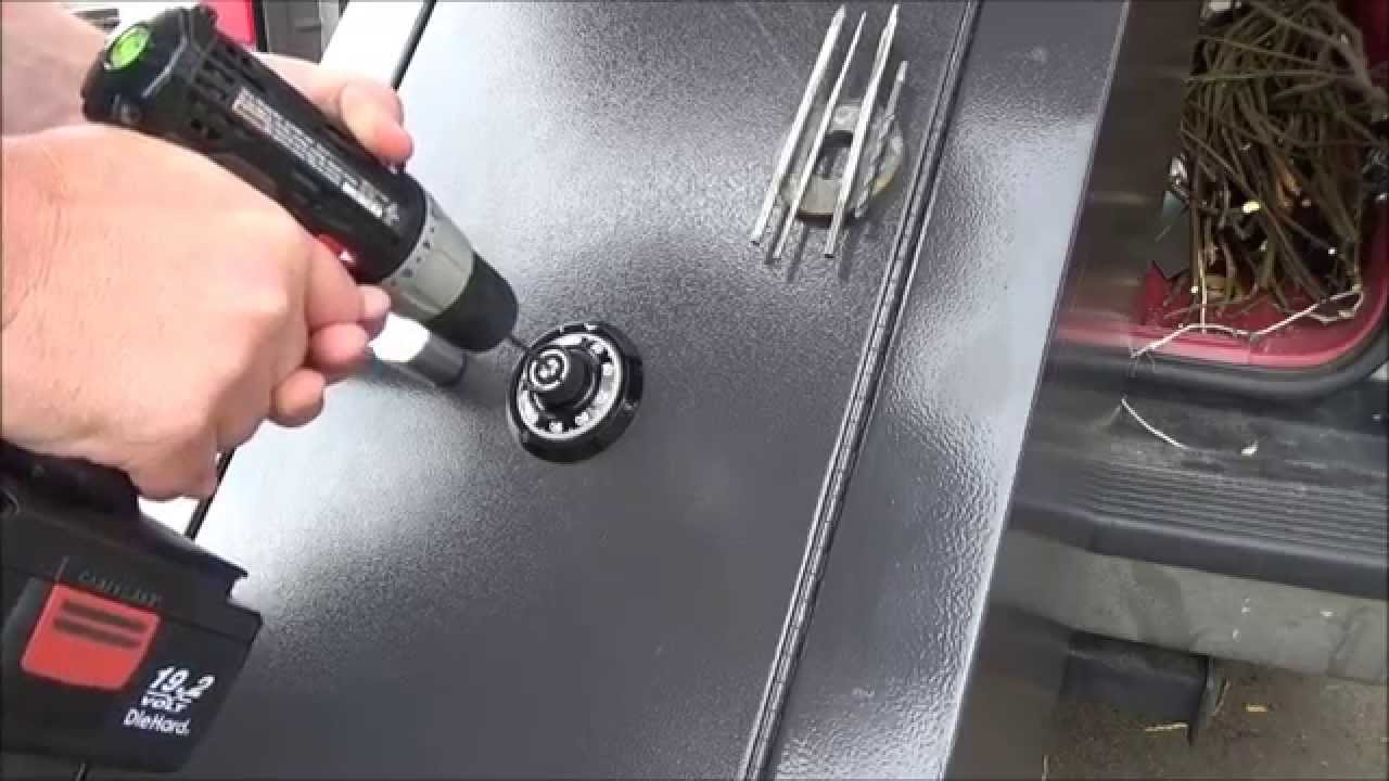 Breaking Into A Homak Gun Safe L2survive With Thatnub