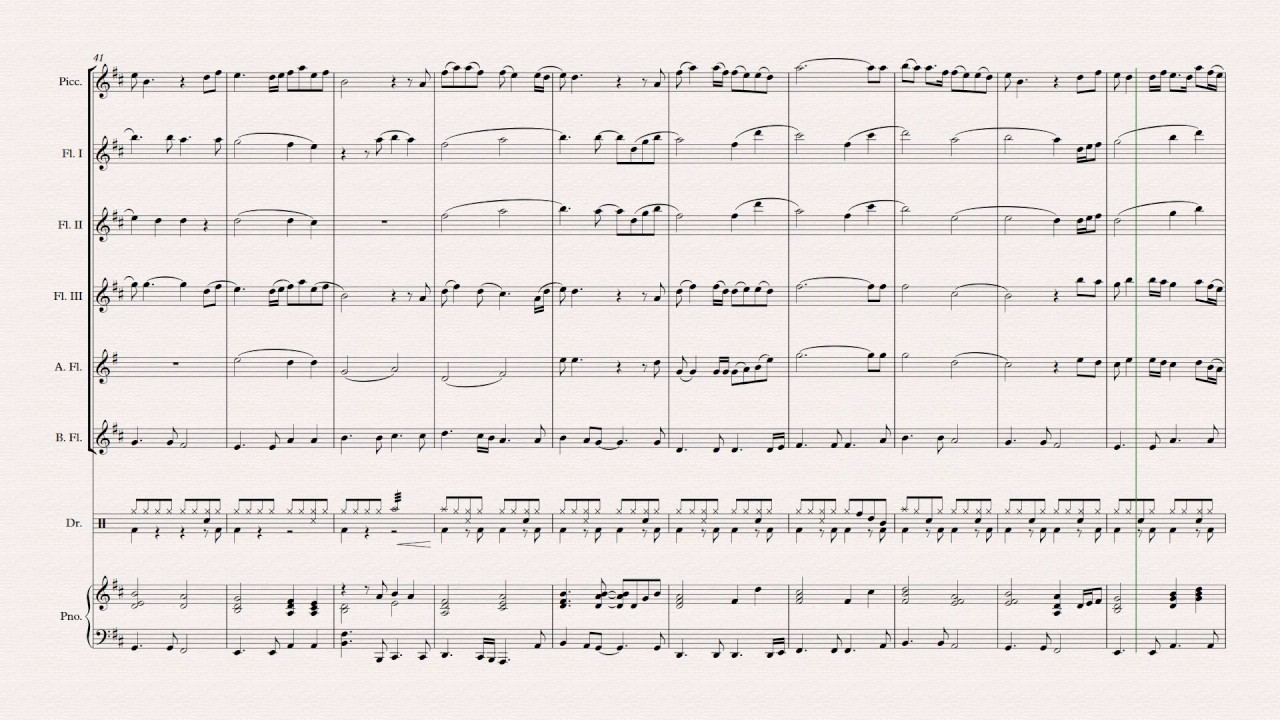 Colors of The Wind Flute Ensemble JEJU ARTS INSTITUTE 2016 - YouTube