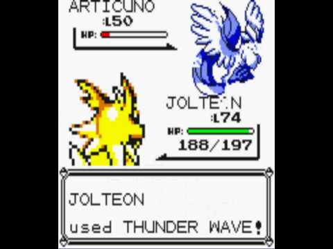 how to catch articuno yellow