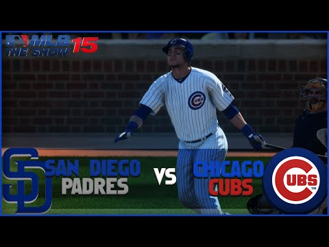 MLB 15 The Show Chicago Cubs Franchise Playoffs- NLDS Game 1 vs San Diego Padres