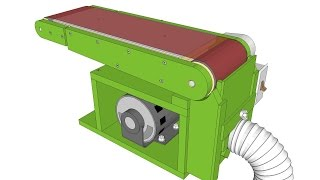 "Detailed plans for my 6""x48"" belt sander http://woodgears.ca/belt_sander/plans."