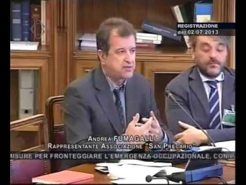 2/7/2013 Commissione Lavoro, le proposte di San Precario