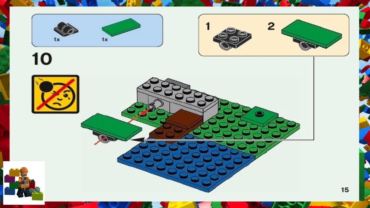 Lego Instructions Minecraft 21138 The Melon Farm Youtube