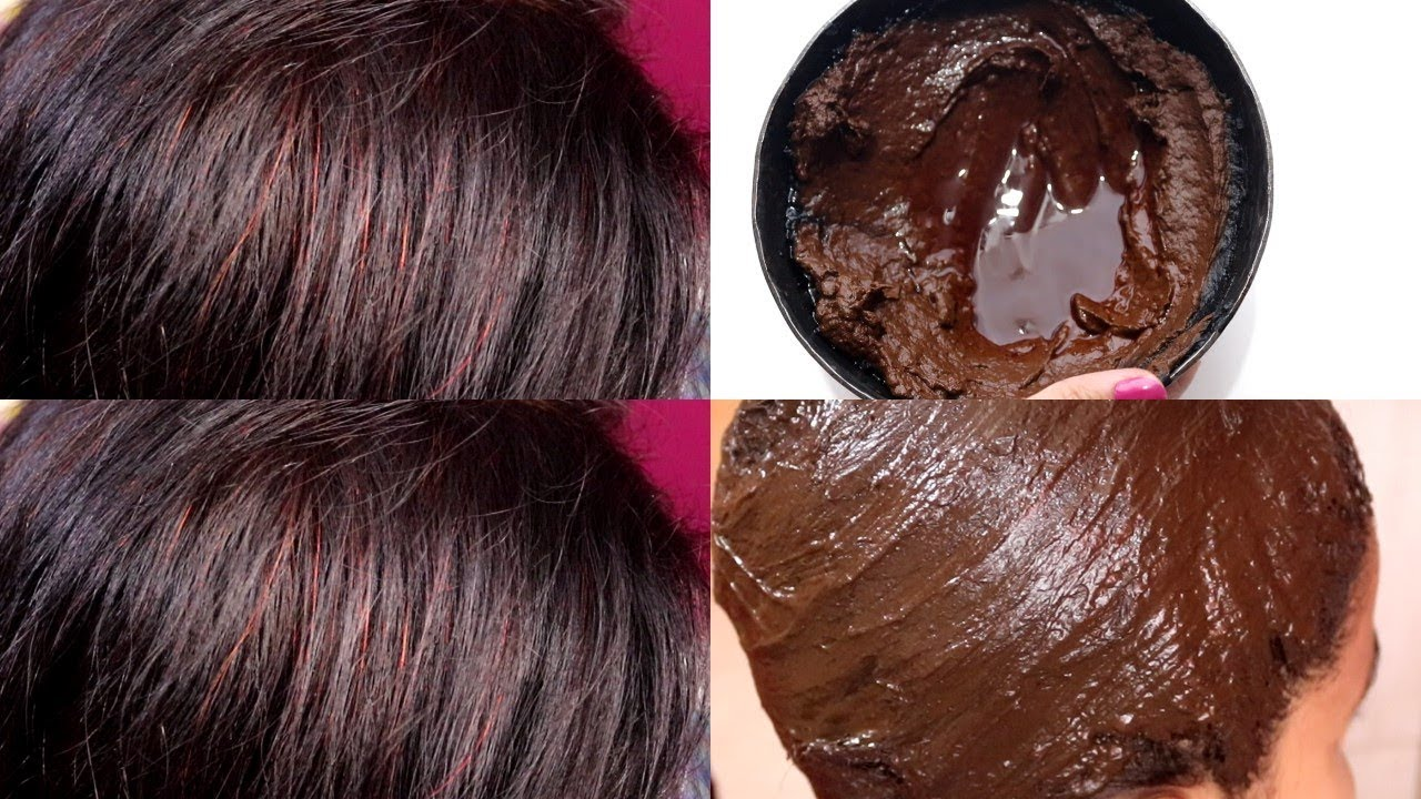 How To Get Burgundy Hair Color Naturally At Home With Henna Hair Dye