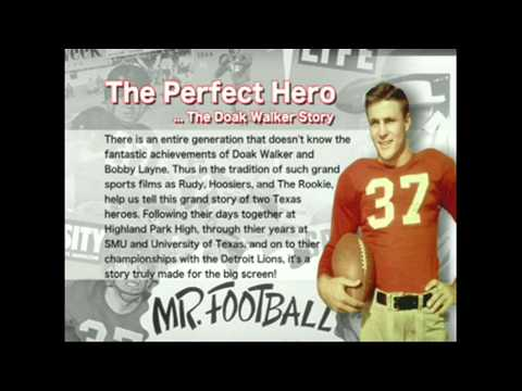 The Doak Walker Story Intro