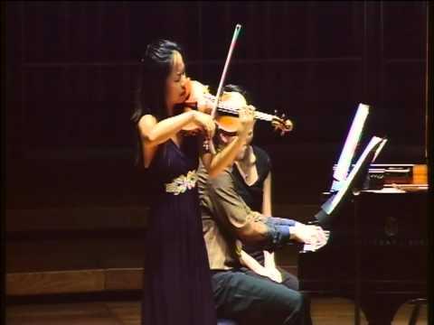Corigliano Violin Sonata 1st & 2nd mvmt performed ...