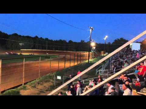 Darrel Bass heat race Sabine motor speedway