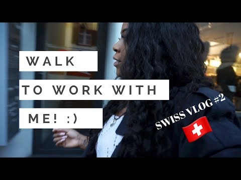 SWISS VLOG #2 | How I Get to Work!