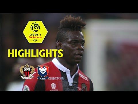 OGC Nice - SM Caen ( 4-1 ) - Highlights - (OGCN - SMC) / 2017-18
