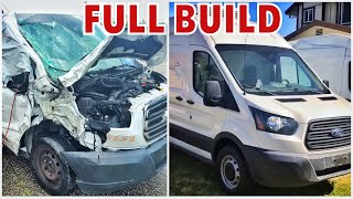 2015 Ford Transit Finished, Full build Start to Finish