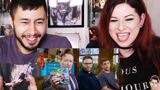 Reaction: Mario Kart | Conan, Seth Rogen & Zac Efron on Clueless Gamer