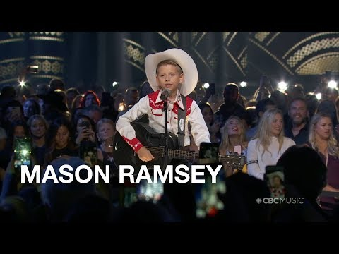 Mason Ramsey's 60 Second Performance -  2018 CCMA Awards