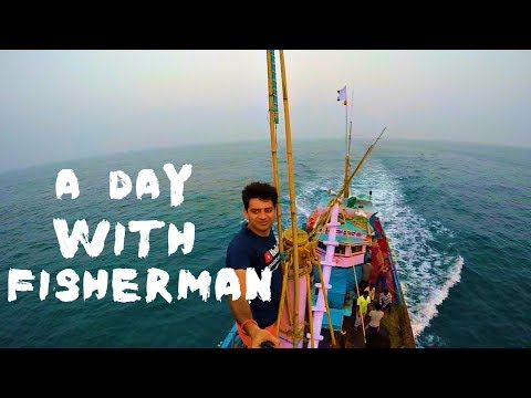 IN ARABIAN SEA WITH MY PIRATE GANG- A Day with FISHERMAN