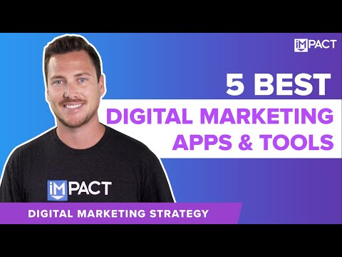 5 Best Digital Marketing Apps and Tools