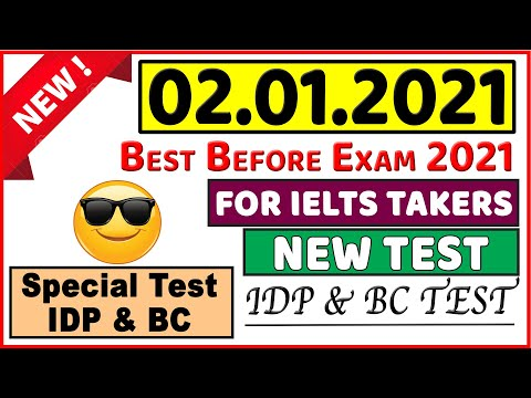 IELTS LISTENING PRACTICE TEST 2021 WITH ANSWERS | 02.01.2021