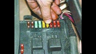 Перестала работать магнитола и прикуриватель.Как заменить предохранитель на ВАЗ 2115