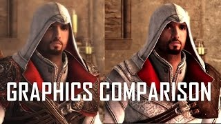 Assassin's Creed The Ezio Collection | Trailer Graphics Comparison (Old games vs. Remastered)