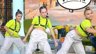 Simona Mereu danseaza pentru olimpiada