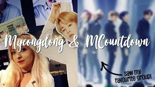 Seeing MY FAVOURITE K-POP GROUP and shopping in Myeongdong   Korea Vlog