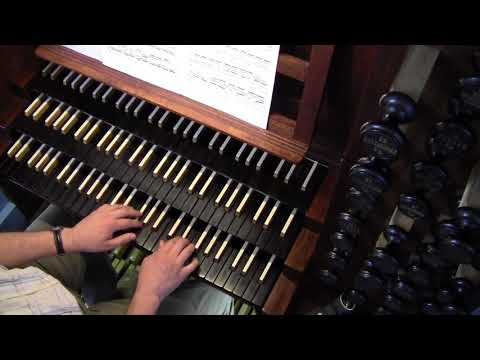 Practicing Fugue In A Minor, BWV 543/2 In A Slow Tempo