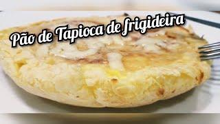 Pão de Tapioca Pronto em 5 Minutos