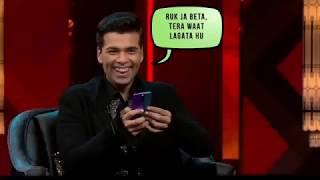 Karen johar troll KL rahul funny video. Watch and enjoy
