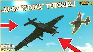 [PART 1] How to make a Junkers Ju-87 Stuka in Build a Boat!! | ROBLOX