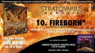 """Stratovarius Nemesis Album Prelistening 10 """"Fireborn"""" Snippet (Special Edition Bonus Track)"""