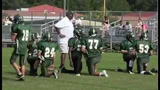 Johnathon and the Ebeneser Middle School Football Team Pregame Activities on 9-9-15.avi