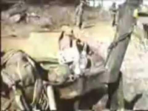 Репортаж с последнего места боя Пермских Омоновцев 29 марта 2000 года в Жани-Ведено