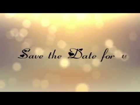 Wedding Invitation Youtube
