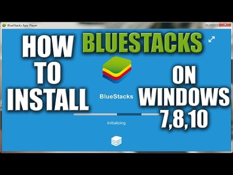 How to Install BlueStacks on Windows 7 2016 - YouTube
