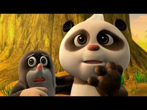 Krtek a panda epizoda 7 - Den objímání v lese