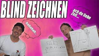 BLIND ZEICHNEN gegen SASCHA!