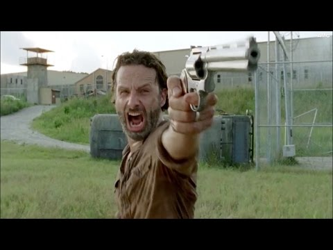 Rick Grimes Screaming on 'The Walking Dead'
