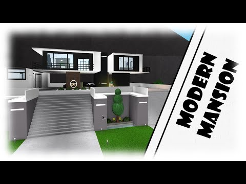 Roblox|MODERN MANSION| Bloxburg