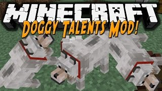 #3 - Дрессировка собаки! (Doggy Talents) - Обзор модов для Minecraft