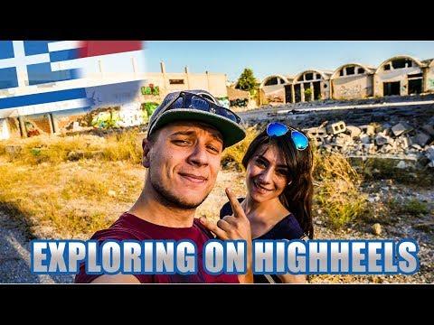 EXPLORING ABANDONED GREEK COTTONFACTORY | Strange Voices - Vlog 246