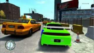 GTA IV - Mitsubishi Eclipse ``Velozes e furiosos´´   HD