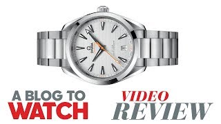 Gambar cover Omega Seamaster Aqua Terra 150M Co-Axial Master Chronometer Watch Review | aBlogtoWatch