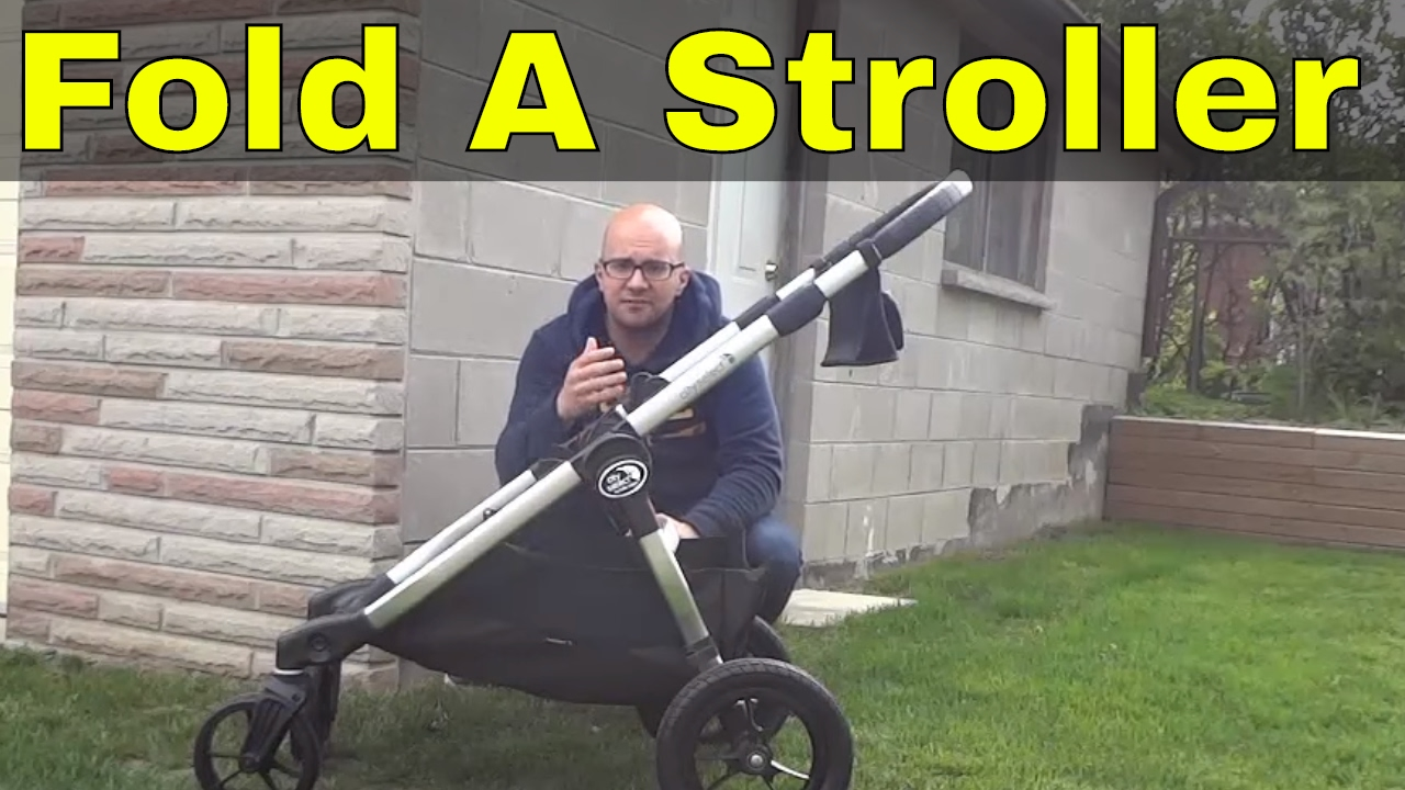 How To Fold A City Select Stroller-Baby Jogger