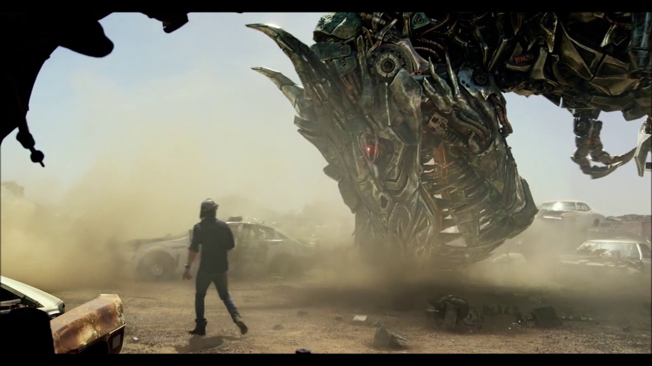 Download Transformers: The Last Knight   Grimlock Scenes