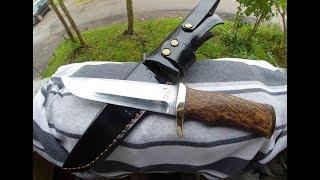 нож из р6м5,это надо видеть.#Making#Нож
