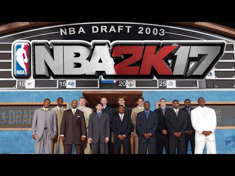 LEBRON LEADS 2003 NBA DRAFT CLASS SQUAD GAMEPLAY | NBA 2K17 | MY TEAM ONLINE
