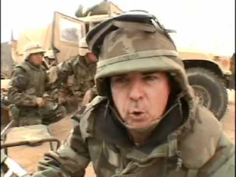 Robert Riggs Embedded Reporter 552ADA Iraq Under Fire in Iraq 2003